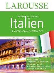 Dernières parutions sur Dictionnaires, Grand dictionnaire français-italien et italien-français