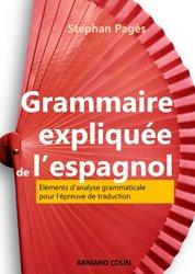 Dernières parutions sur Grammaire-Conjugaison-Orthographe, Grammaire expliquée de l'espagnol