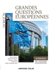 Dernières parutions dans Horizon, Grandes questions européennes. IEP-Concours administratifs, 5e édition