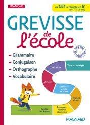 Dernières parutions sur Langues et littératures étrangères, Grévisse de l'école du CE1 à l'entrée en 6e