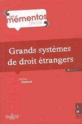 Dernières parutions dans Mémentos Dalloz. Série Droit Privé, Grands systèmes de droit étrangers. 8e édition