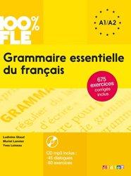 Dernières parutions dans 100% FLE, Grammaire Essentielle du Français A1 - A2