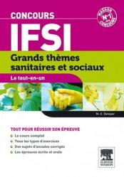 Souvent acheté avec Entrainement aux tests d'aptitude logique, d'organisation et d'attention, le Grands thèmes sanitaires et sociaux  - Concours IFSI