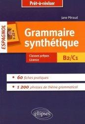 Dernières parutions dans Prêt-à-réviser, Grammaire synthétique espagnol B2/C1