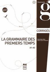 Dernières parutions dans FLE, La grammaire des premiers temps