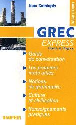 Dernières parutions sur Guides de conversation, Grec Express