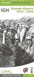 Dernières parutions sur Cartes thématiques, Grande Guerre 1914-1918. 1/410 000