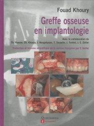 Souvent acheté avec Parodonties sévères et orthodontie, le Greffe osseuse en implantologie