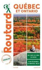 Dernières parutions dans Le Routard, Guide du Routard Québec et Ontario 2020/21