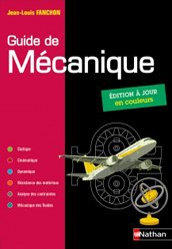 Dernières parutions sur Construction mécanique, Guide de mécanique 2019