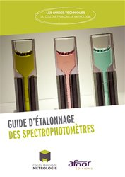 Dernières parutions sur Examens de laboratoire, Guide d'étalonnage des spectrophotomètres