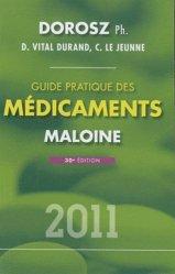 Souvent acheté avec Dictionnaire médical de l'infirmière, le Guide pratique des médicaments 2011