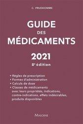 Dernières parutions sur Pharmacie, Guide des médicaments 2021