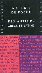 Dernières parutions sur Livres en latin, Guide de poche des auteurs grecs et latins