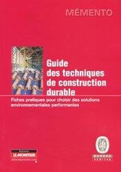 Souvent acheté avec Tous les assemblages du bois et leurs utilisations, le Guide des techniques de construction durable