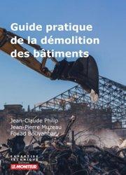 Dernières parutions sur Gros oeuvre, Techniques de démolition des constructions