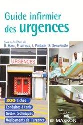 Souvent acheté avec Urgences pédiatriques, le Guide infirmier des urgences
