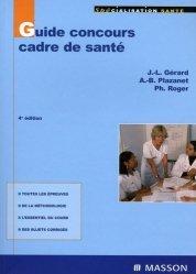 Souvent acheté avec L'infirmière scolaire aujourd'hui, le Guide concours cadre de santé