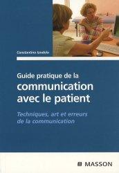 Dernières parutions sur Relation médecin / patient, Guide pratique de la communication avec le patient