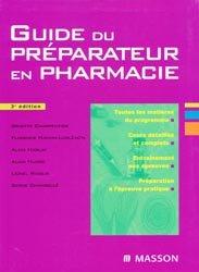 Souvent acheté avec Annales du BP, le Guide du préparateur en pharmacie
