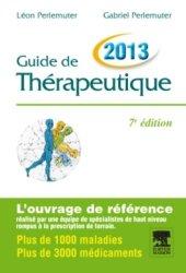 Souvent acheté avec Le manuel Merck, le Guide de thérapeutique 2013