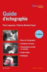 Dernières parutions sur Echographie, Guide d'échographie