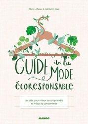Dernières parutions sur Ecologie - Environnement, Guide de la mode écoresponsable
