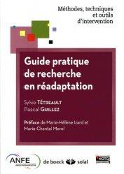 Dernières parutions dans Méthodes, techniques et outils d'intervention, Guide pratique de recherche en réadaptation