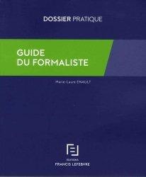 Nouvelle édition Guide du formaliste