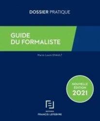 Nouvelle édition Guide du formaliste 2021