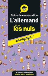 Dernières parutions sur Guides de conversation, L'allemand pour les nuls en voyage !