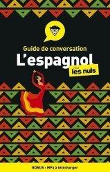 Dernières parutions sur Auto apprentissage (parascolaire), Guide de conversation espagnol pour les nuls