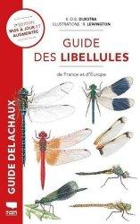 Dernières parutions sur Animaux, Guide des libellules de france et d'europe