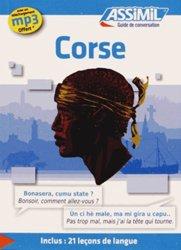 Dernières parutions sur Corse, Guide de Conversation Corse