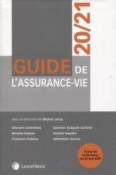 Dernières parutions sur Assurances, Guide de l'assurance vie. Edition 2020-2021
