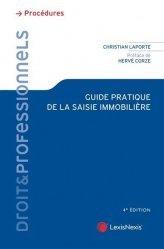 Dernières parutions dans Droit & Professionnels, Guide pratique de la saisie immobilière