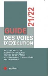 Nouvelle édition Guide des voies d'exécution