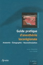 Souvent acheté avec Anesthésie en chirurgie orthopédique et traumatologique, le Guide pratique d'anesthésie locorégionale