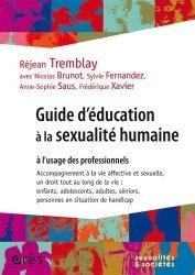 Souvent acheté avec Le sommeil et ses pathologies  approche clinique transversale chez l adulte, le Guide d'éducation à la sexualité humaine à l'usage des professionnels