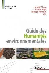 Dernières parutions dans Environnement et société, Guide des Humanités environnementales