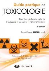 Dernières parutions sur Toxicologie, Guide pratique de toxicologie