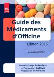 Guide des Médicaments d'officine 2015