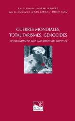 Dernières parutions dans Pluriels de la psyché, Guerres mondiales, totalitarismes, génocides