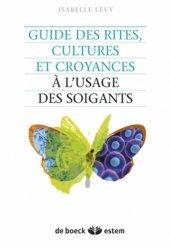 Souvent acheté avec Processus psychopathologiques UE 2.6, le Guide des rites, cultures et croyances à l'usage des soignants