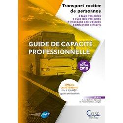 Nouvelle édition Guide de capacité professionnelle transport routier de personnes