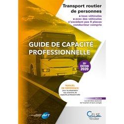 Dernières parutions sur Logistique, Guide de capacité professionnelle transport routier de personnes