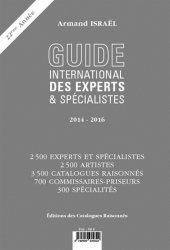 Dernières parutions sur Marché de l'art et argus, Guide international des experts & spécialistes 2014-2016