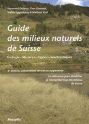 Nouvelle édition Guide des milieux naturels de Suisse