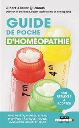 Dernières parutions sur Homéopathie, Guide de poche d'homéopathie