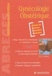 Souvent acheté avec Guide pratique de surveillance pré et postopératoire en gynécologie obstétrique, le Gynécologie Obstétrique